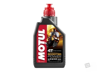 Motorovy olej Motul 5W-40 4T Scooter power